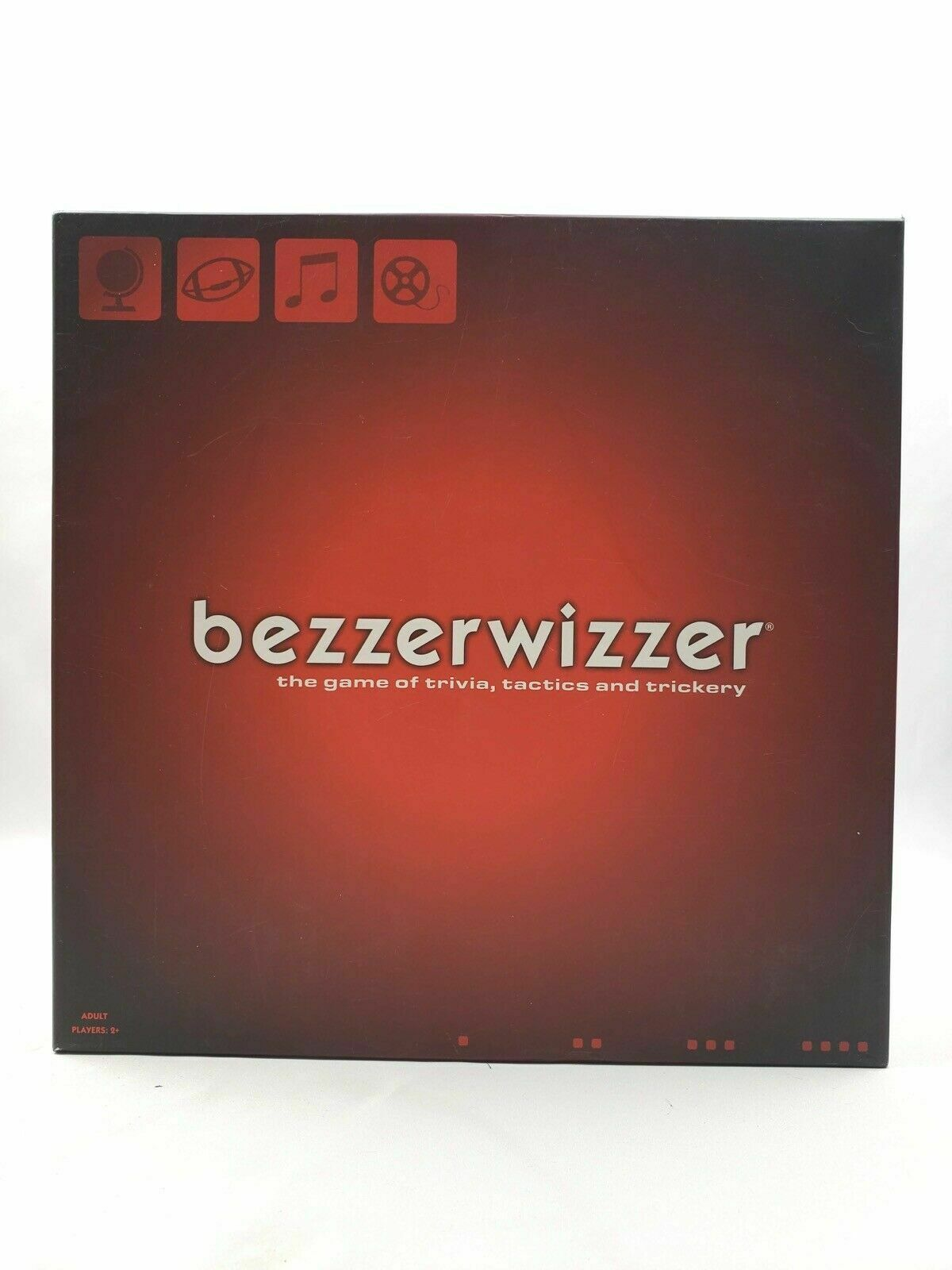 Juego De Mesa Bezzerwizzer curiosidades, tácticas & engaños 2008 Mattel Nuevo Sellado