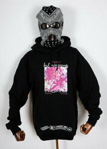 Huf Worldwide Sweatshirt Hooded Pullover Hoodie Lovely Sort Black in M