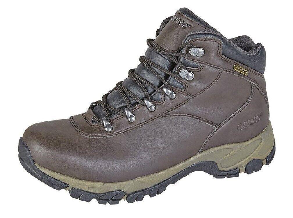 Hi-TEC ALTITUDE M678 V I WP Quality Hiking Origina lLeather Ankle Stiefel