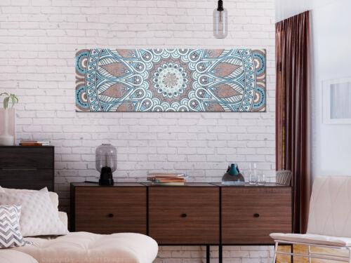 Wandbilder xxl Mandala Ornamente Orient Leinwand Bilder Wohnzimmer f-A-0670-b-a