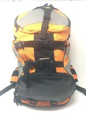 17ccd94726d Icon Moto Squad 2 MIL Spec Heavy Duty Motorcycle Backpack Orange Grey Black