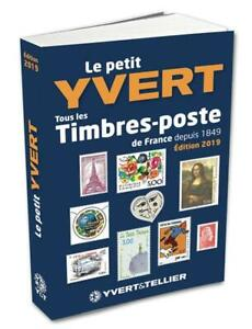 YVERT-amp-TELLIER-2019-STAMPS-SMALL-CATALOG-FRANCE-AND-LAST-SHEETLET
