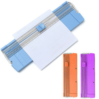 Paper Cutter A4 A5 Scrapbook Paper Card Cutter Trimmer Ruler Office Trimmer Tool