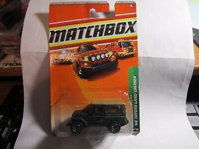 2011 MATCHBOX JUNGLE EXPLORERS /'68 TOYOTA LAND CRUISER ANACONDA 95//100 RARE !!