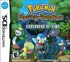 Pokémon Mystery Dungeon: Explorers of Time (Nintendo DS, 2008)