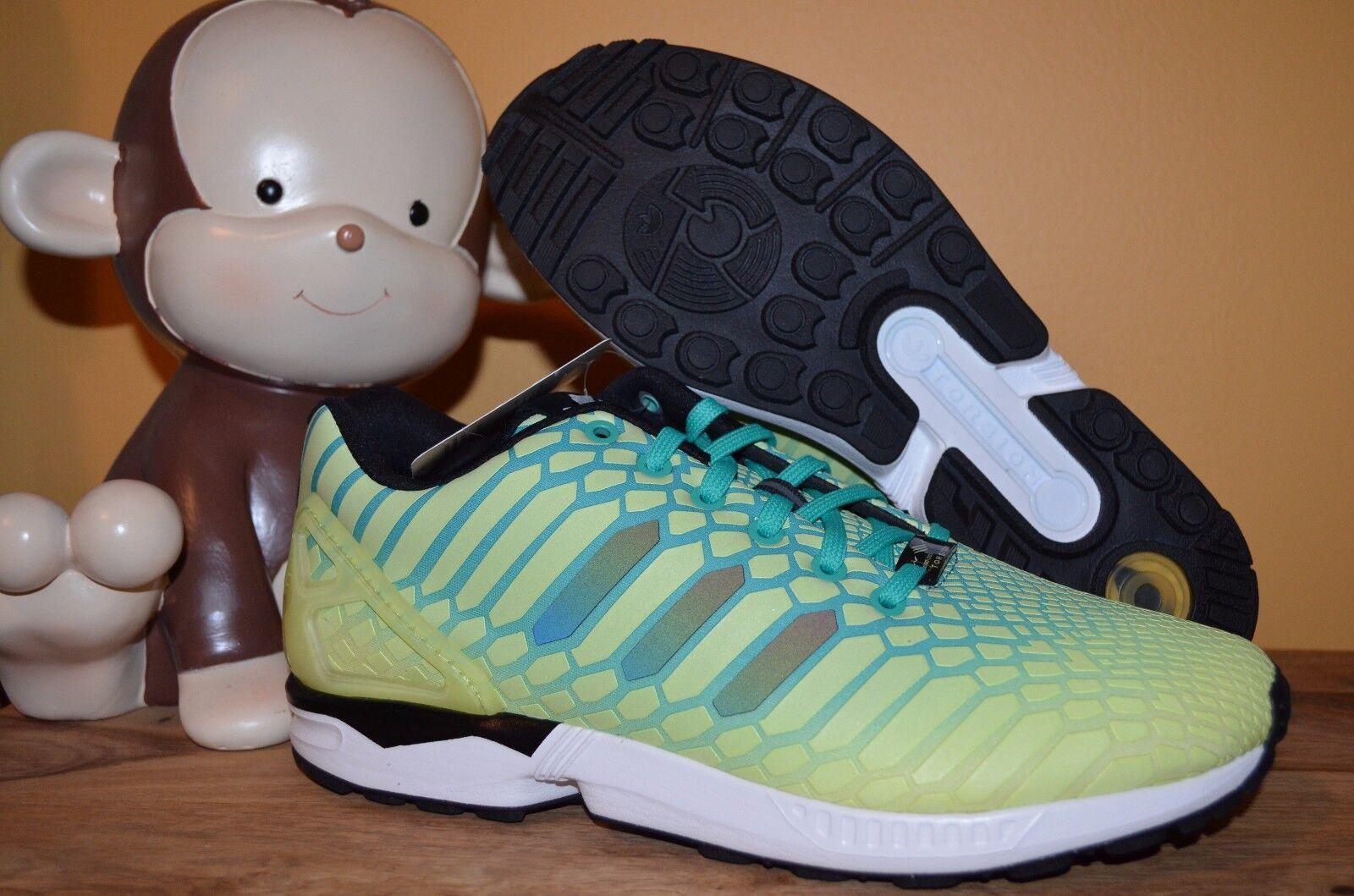 les flux nouveaux adidas formateurs zx formateurs adidas sz 9,5 - 11 brillent dans le noir aq8212 jaune / vert Hommes the 19ffe4