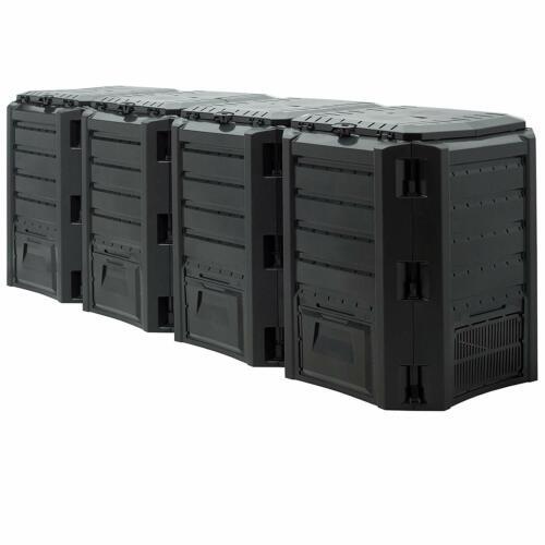 Komposter Schnellkomposter Kunststoff 380 800 1200 1600 Liter Gartenkomposter