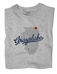 Oak Lawn Illinois IL Ill T-Shirt MAP