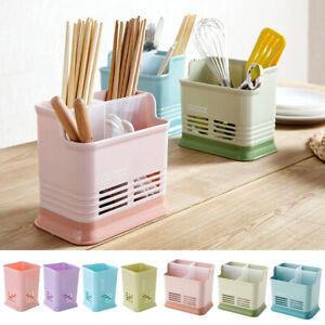 Cubiertos-de-utensilios-de-cocina-de-plastico-del-sostenedor-del-estante-Palillos-Cuchara-Fregadero