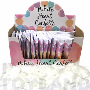 24-PACKS-THROW-WEDDING-HEART-CONFETTI-PAPER-TISSUE-TABLE-DECORATION-DISPLAY-BOX