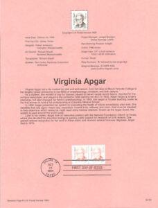 9433-29c-Virginia-Apgar-Stamp-2812-USPS-Souvenir-Page