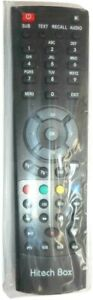 Hitechbox 9000 9200 and 9900 genuine brand new remote control