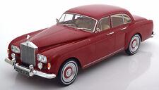 MCG 1965 Rolls Royce Silver Cloud 3 Flying Spur RHD Mulliner Dark Red 1/18 New!