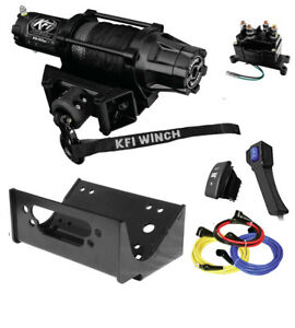 KFI-AS-50w-Wide-Assault-Winch-amp-Mount-Kit-2014-2018-Teryx-amp-Teryx4-800
