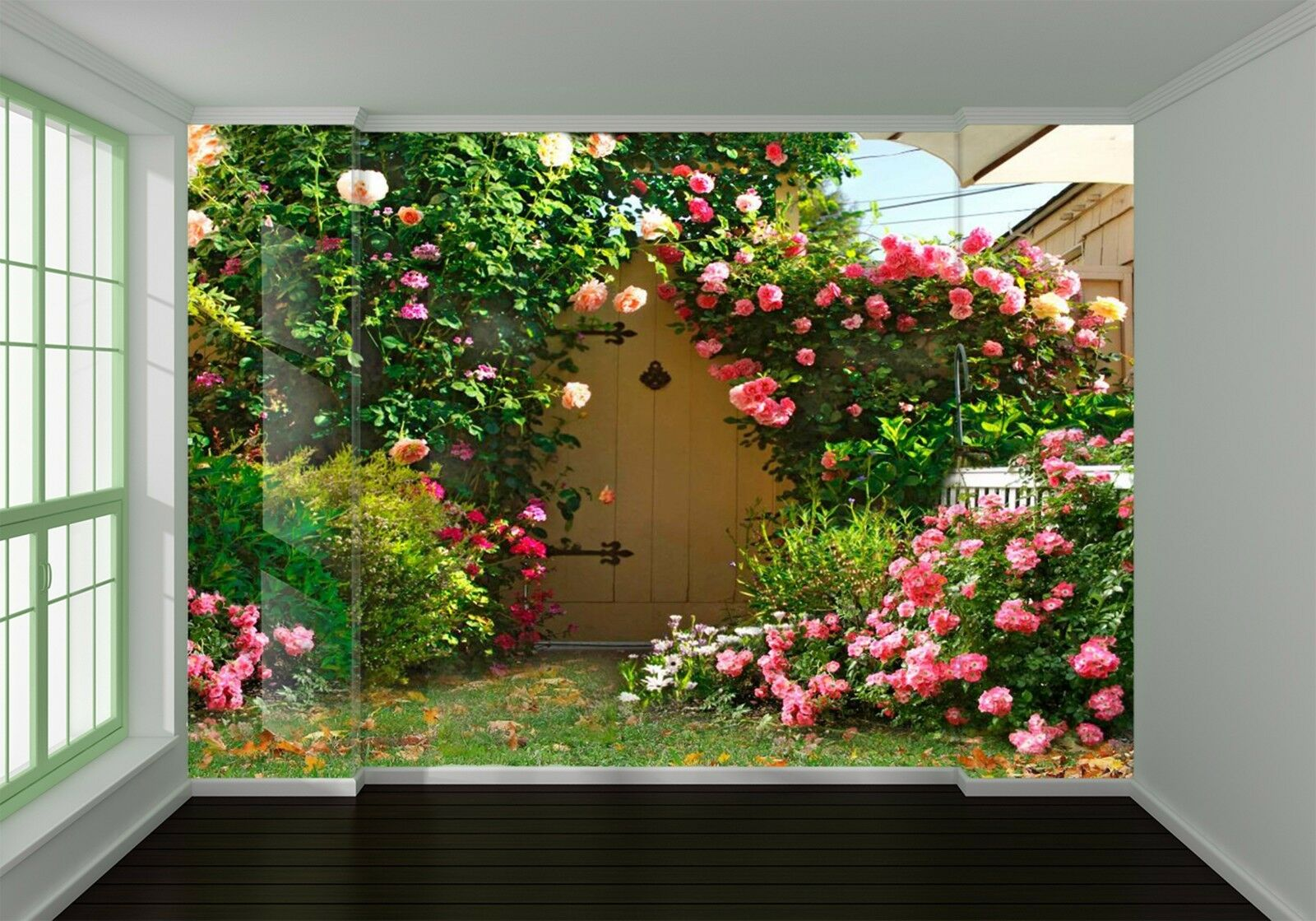 3D Flowers lawns 2646 Wall Paper Wall Print Decal Wall Indoor Murals Wall US