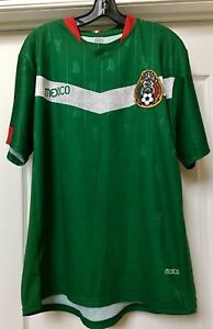 online store 739ea c0aca Details about MEXICO SOCCER FUTBOL CLUB JERSEY 2006 GERMANY FIFA WORLD CUP,  Size XL