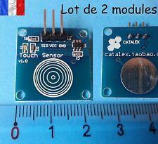 2x Module Arduino digital touch sensor capteur tactile DIY - E208