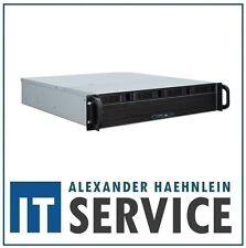 "2HE 19"" Gehäuse Inter-Tech 2U-2404L Rack Server ink 6G Backplane 4x HDD 3,5"" IPC"