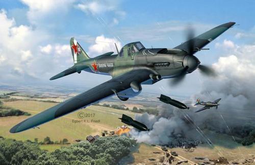 Il - 2 stormovik kit revell 1 48 skala rv03932 modell kit