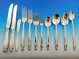 Prelude-by-International-Sterling-Silver-Flatware-Set-Dinner-Service-145-pieces