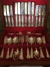 Beautiful Unused 44pc Set Of Epns Newbridge Kings Pattern Cutlery