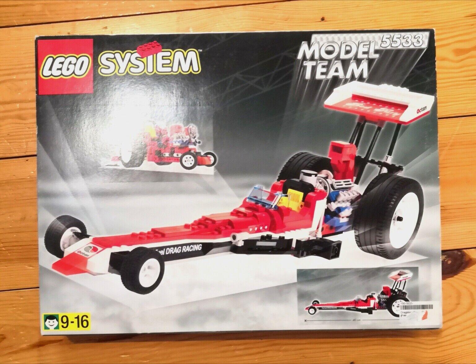 Lego System 5533 Model Team rot Fury NEU & OVP