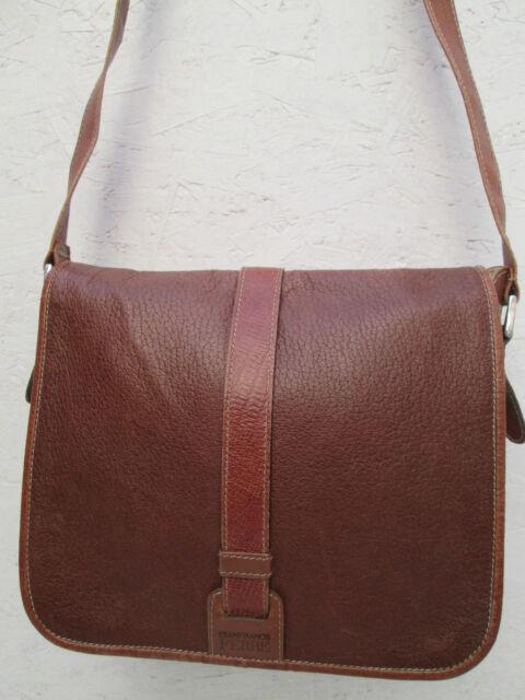 Sac à main  bandoulière GIANFRANCO FERRE  cuir TBEG vintage bag
