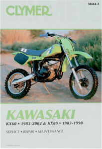 Details about CLYMER Repair Manual for Kawasaki KX60 1983-2002, KX80 on