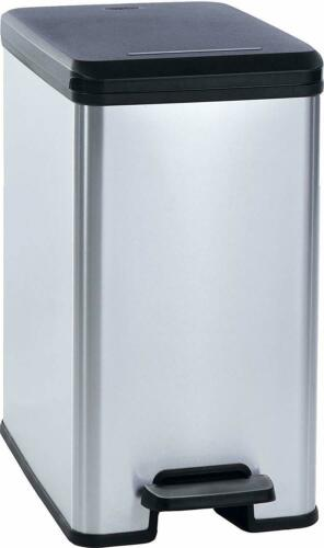 CURVER Abfallbehälter Slim Bin 25L Kunststoff silber NEU+B-Ware 9001