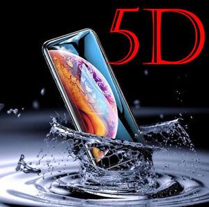 5D-Clear-Full-Cover-9-H-verre-trempe-Film-de-protection-d-039-ecran-pour-iPhone-8-7-6-6-S