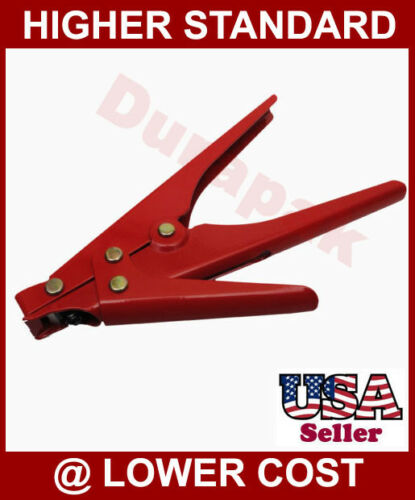Heavy Duty Metal Cable Wire Tie Gun Fastening and Cutting Tool Industrial Use