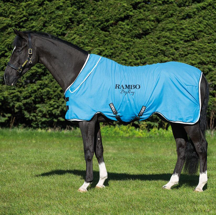 Horseware Rambo dry Rug Supreme-azul negro blanco
