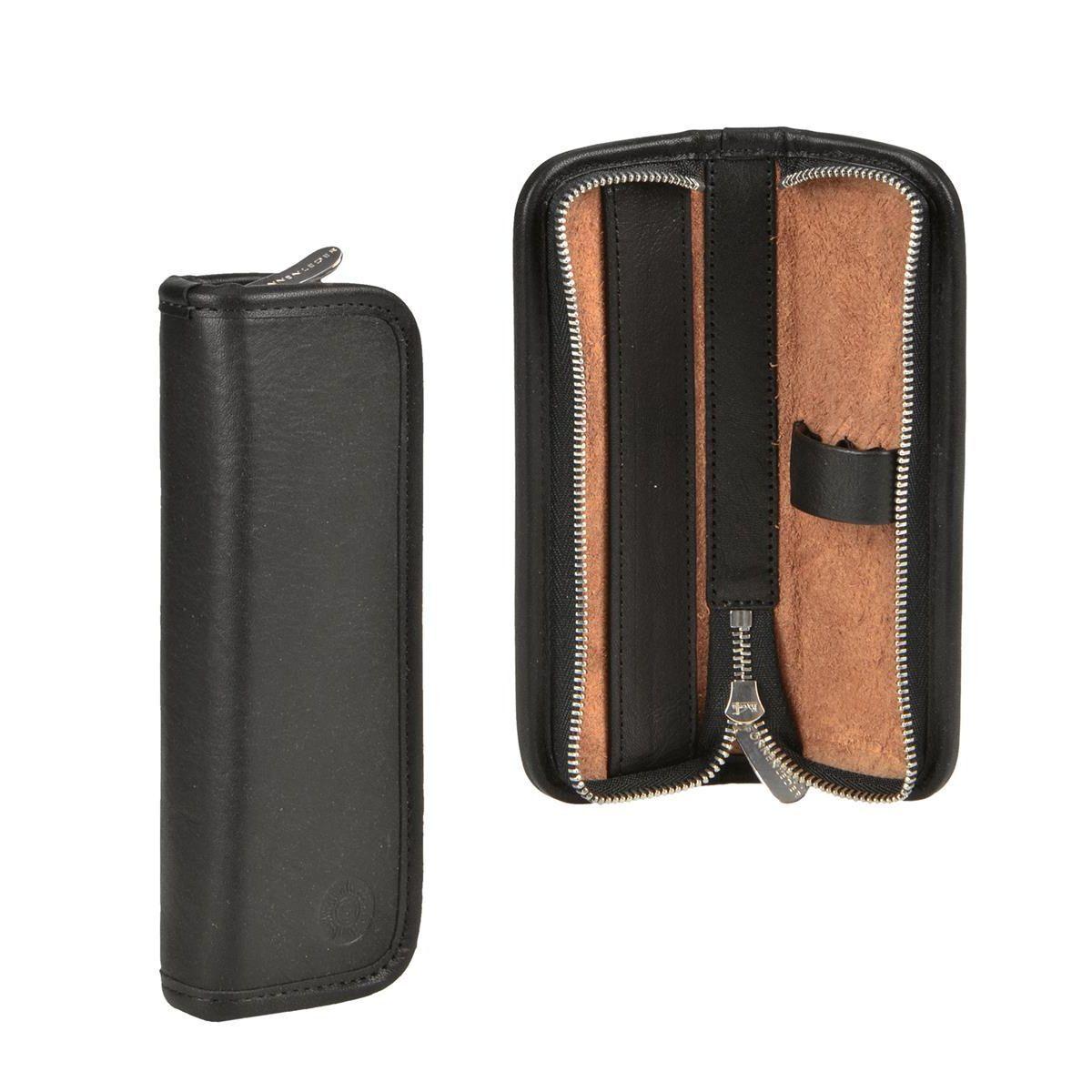 Sonnenleder Stifteetui für 3 Stifte Federtasche Leder Grass Stiftetui schwarz | Online einkaufen  | Haltbarer Service  | Elegante und robuste Verpackung