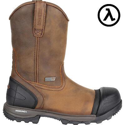 Georgia 10 FLXpoint Waterproof Comp Toe ST Work Boots-G5644 W11