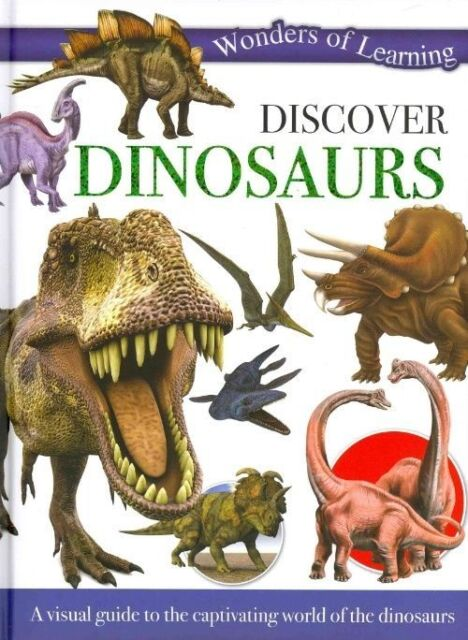 Wonders of Learning: Discover Dinosaurs: Reference Omnibus by , Good Book (Hardc