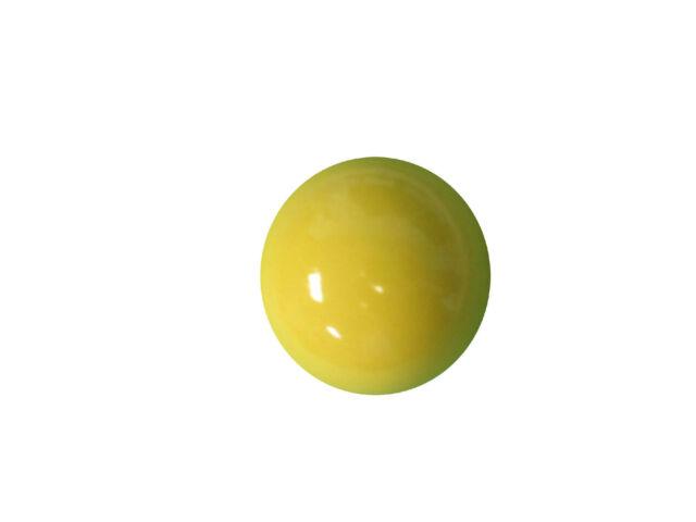 Yellow Round Ball Shaped Ceramic Cabinet Knob Medium