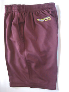 New-Bowlswear-Men-039-s-Maroon-Comfort-Fit-Shorts-Only-42-with-Free-Postage