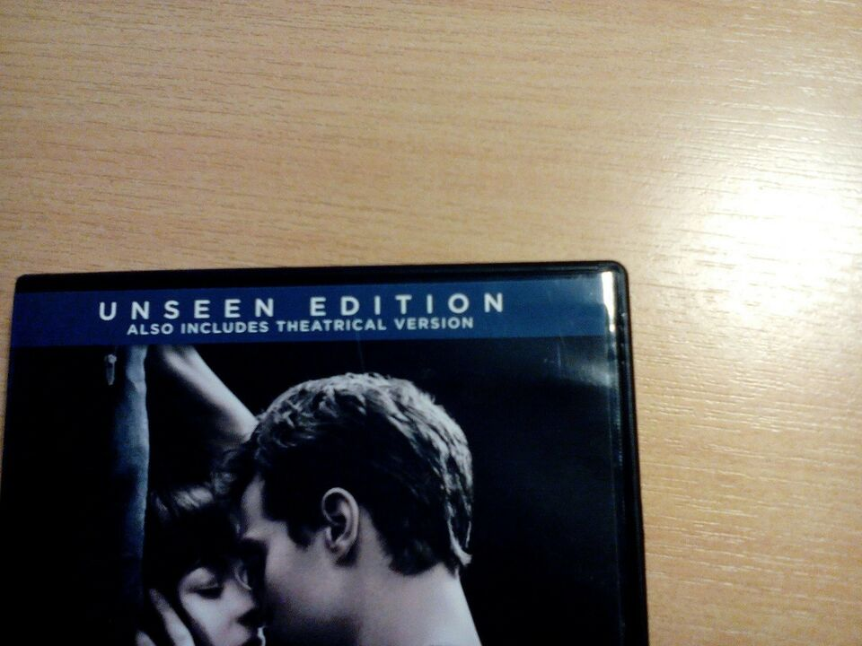 Fifty shades of grey UNSEEN EDITION, DVD, andet