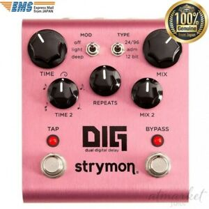 Strymon-DIG-Dual-Digital-Delay-Musical-instrument-Pink-from-JAPAN