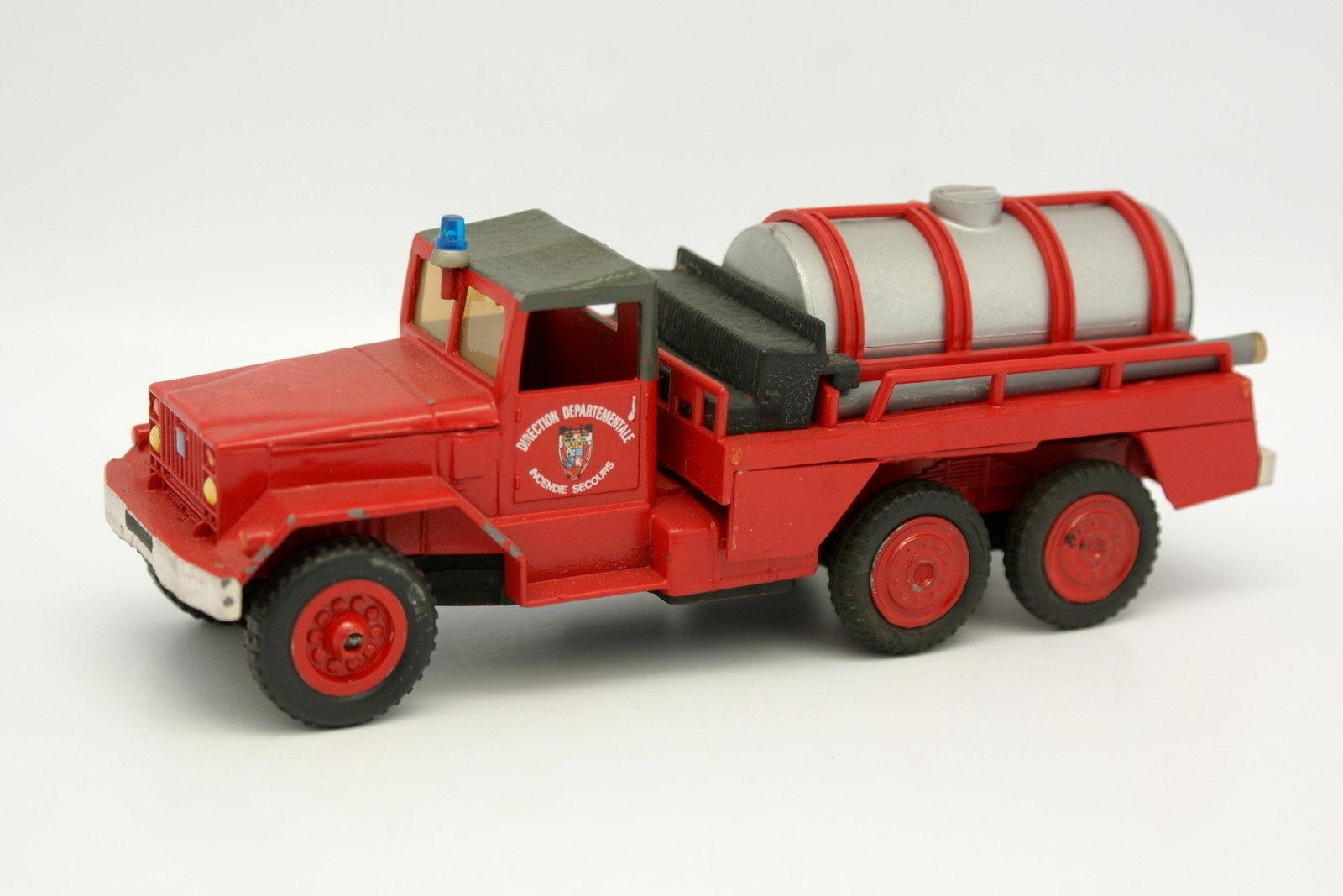 Corgi Spielzeug Code 3 1 43 - International 6X6 Lkw Tank Feuerwehr