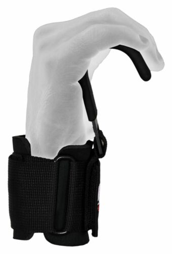 Maxx Pro Weight Lifting Training Gym Straps Hook bar Wrist Support Lift Gloves H