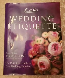Emily Post Wedding Etiquette.Details About Emily Post S Wedding Etiquette Emily Post S Wedding Etiquette By Peggy Post 2