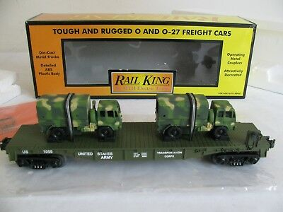 """Army/"""" O-Gauge Model Rail Road Military Camouflage Caboose NEW /""""U.S"""