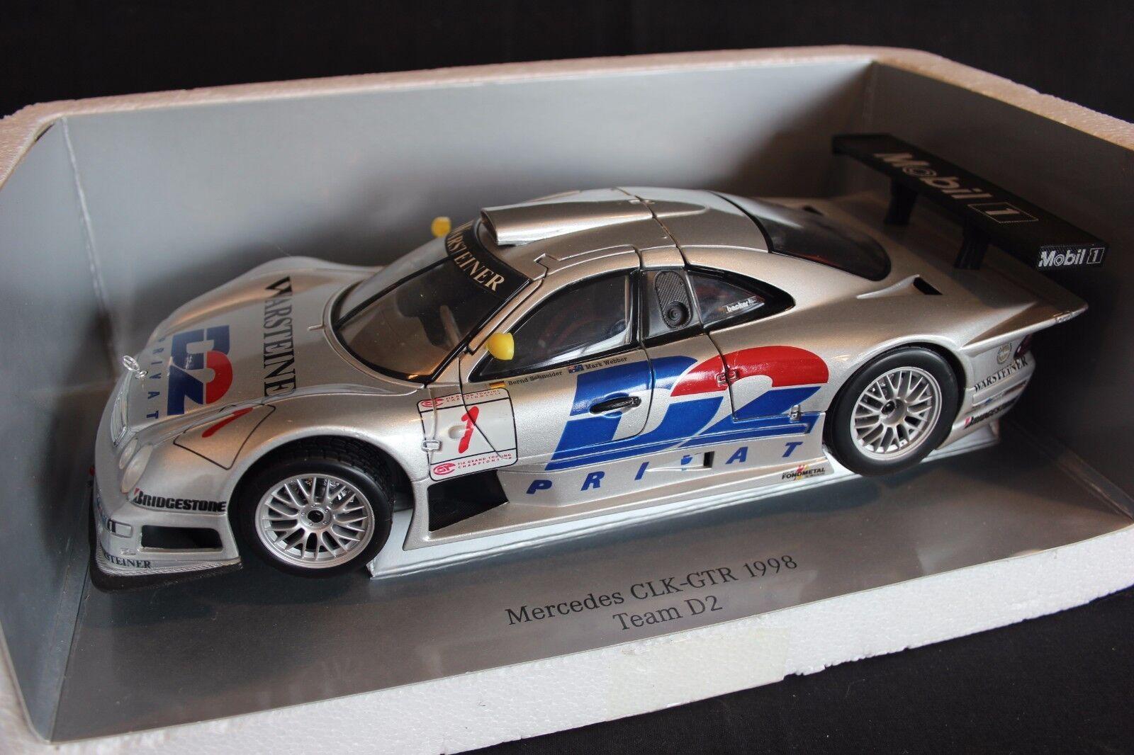 Maisto Mercedes-Benz CLK-GTR 1998 1 18 Schneider   Webber FIA GT (JvM)