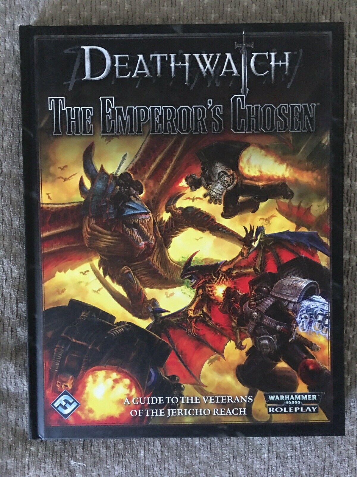 Deathwatch The Empreror's Chosen RPG Expansion 40k