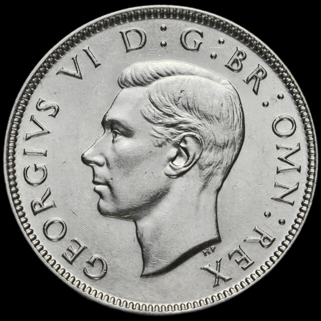 1944 George VI Silver Two Shilling Coin / Florin, G/EF