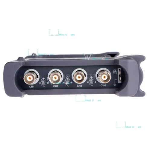 Hantek Virtual USB Digital Storage Oscilloscope 4CH 100MHz 1GSa//s 8bits 64K