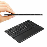 Ultrathin Bluetooth Keyboard With Touchpad For Windows & Ios & Android Devices