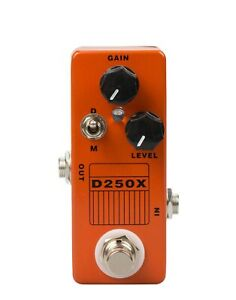 Guitar-Effects-pedal-Mosky-Overdrive-D250X-Based-on-DOD-250-Preamp-true-bypass