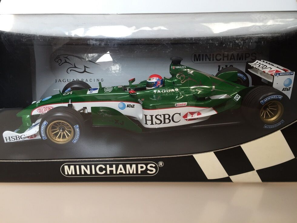 1 18 Jaguar Racing 4 J.Wilson Minichamps